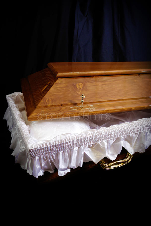 Download Coffin stock image. Image of sarcophagus, death, lace - 25173057