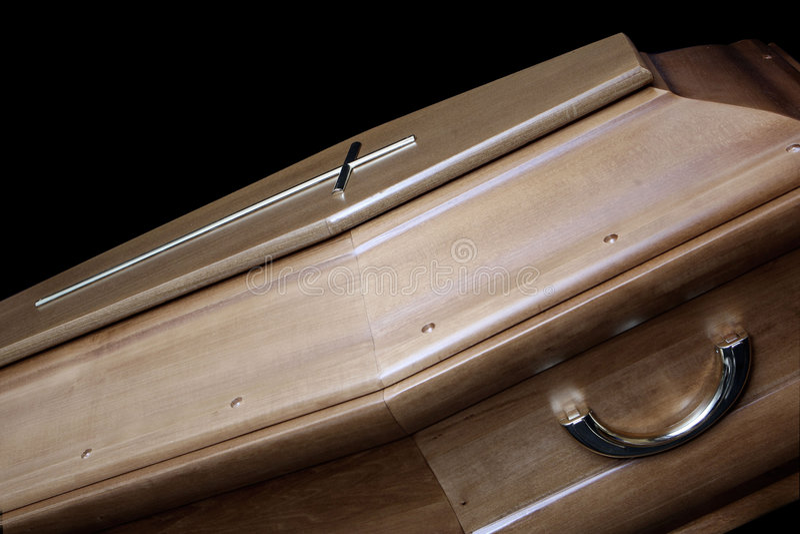 Coffin royalty free stock photos
