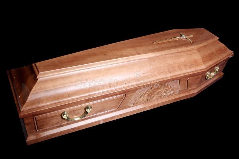 Coffin stock image