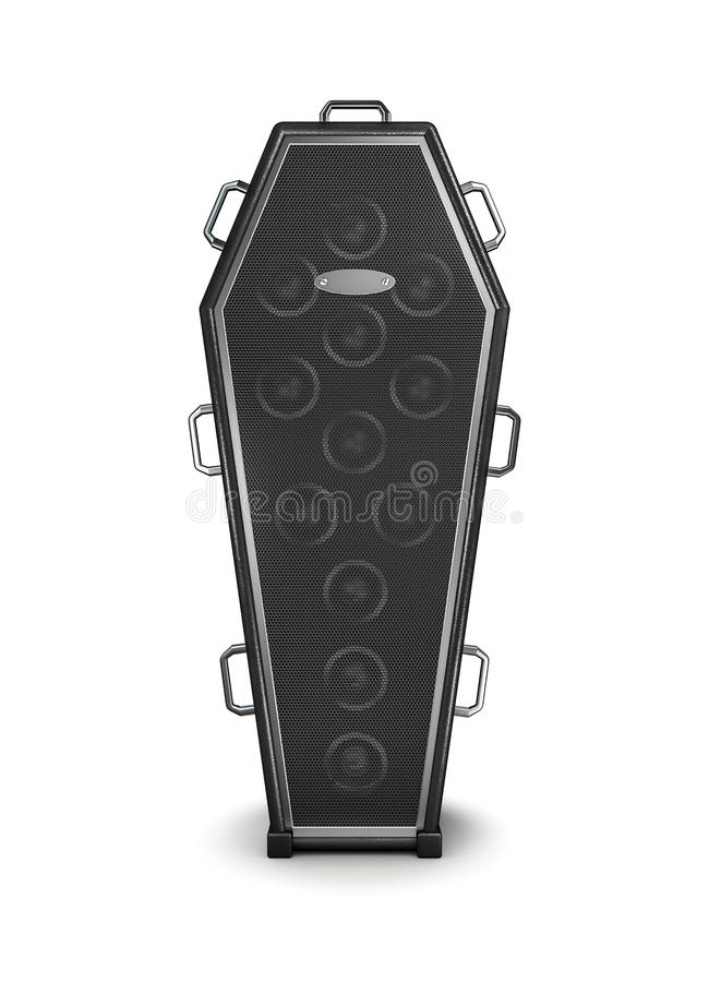 Coffin Amplifier Stock Images
