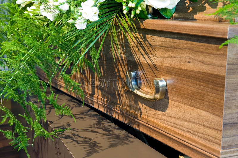 Download Coffin in morgue stock photo. Image of morgue, mourningcasket - 25157770