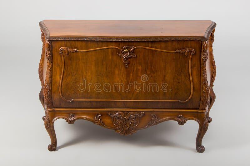 Coffre des tiroirs, siècle Néo--baroque du style XX photographie stock