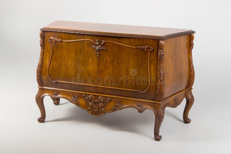 Coffre des tiroirs, siècle Néo--baroque du style XX photographie stock libre de droits