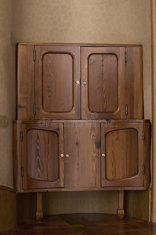 Coffret en bois photographie stock libre de droits