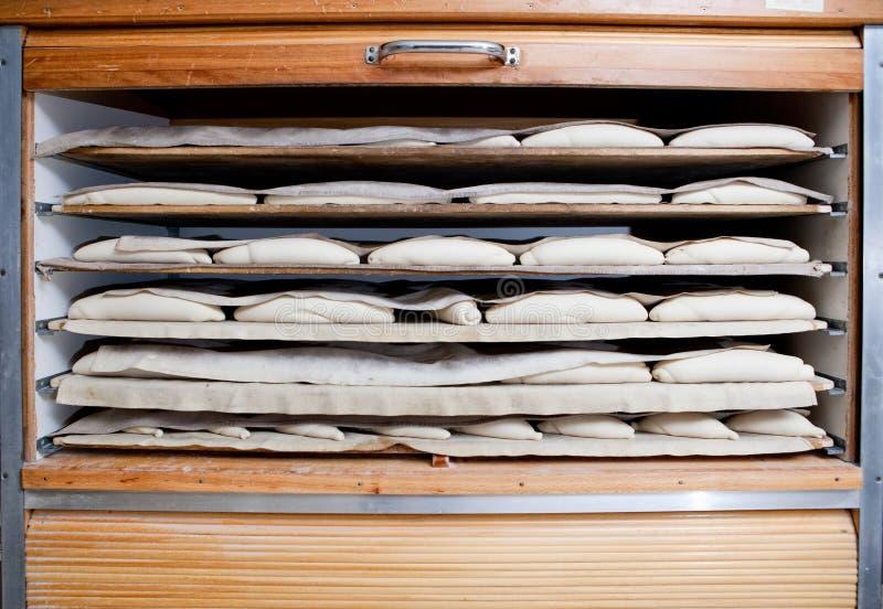 Coffret en bois de fermentation image libre de droits