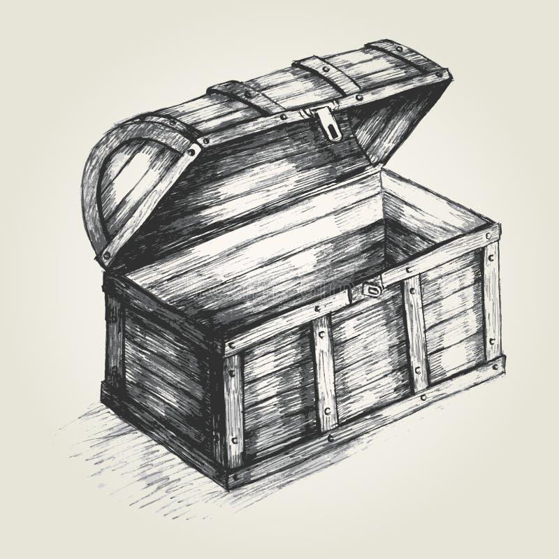 Cofre del tesoro libre illustration