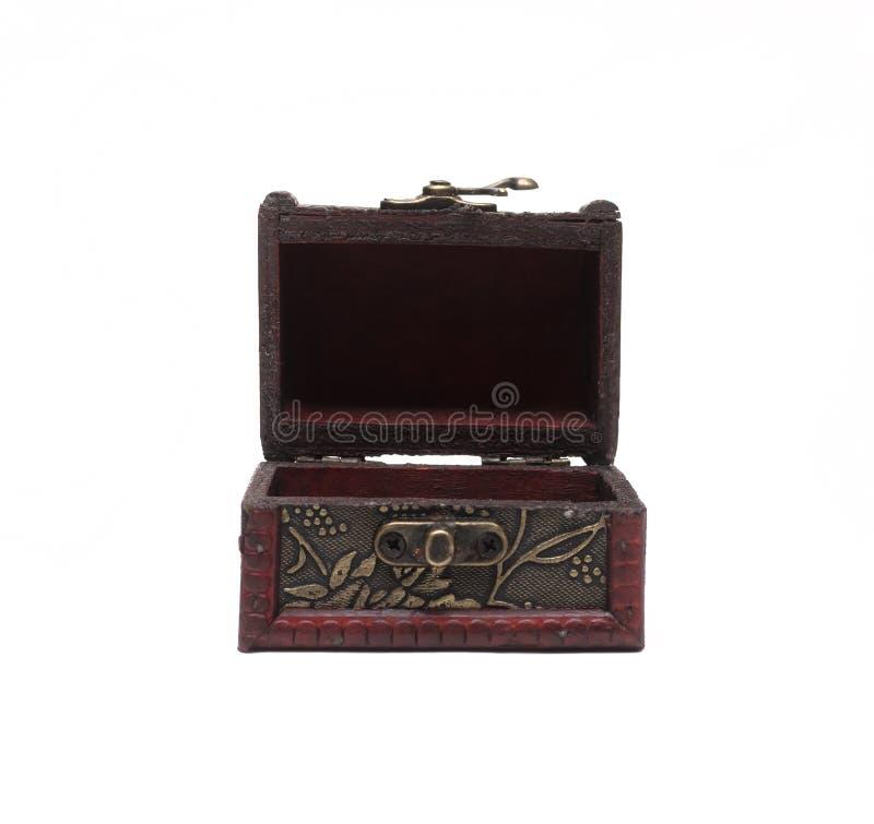 Cofre del tesoro de piratas Rectángulo de regalo fotos de archivo libres de regalías