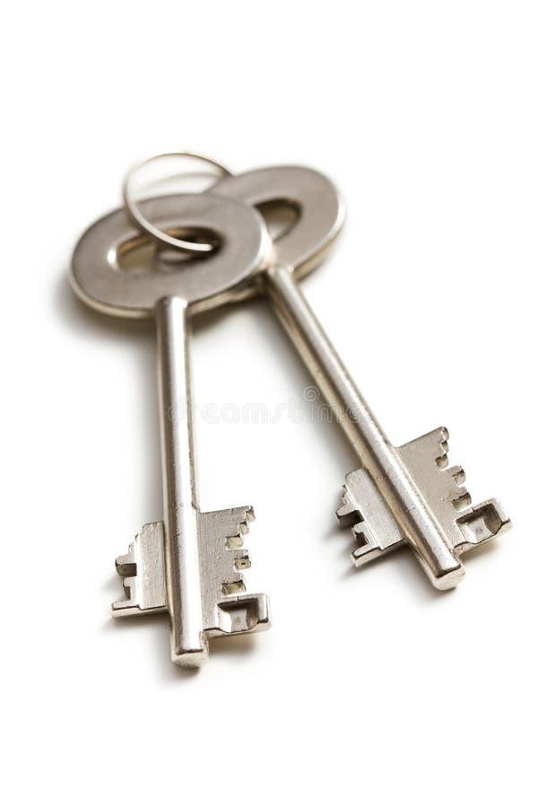 Cofres fortes chaves imagem de stock