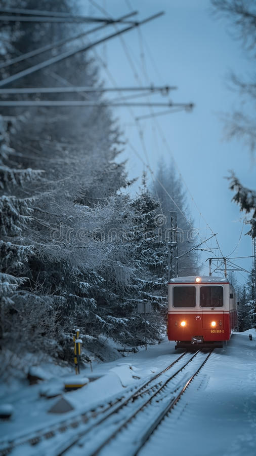 Download Cog Railway, Tatra Mountains Stock Photo - Image: 91379638