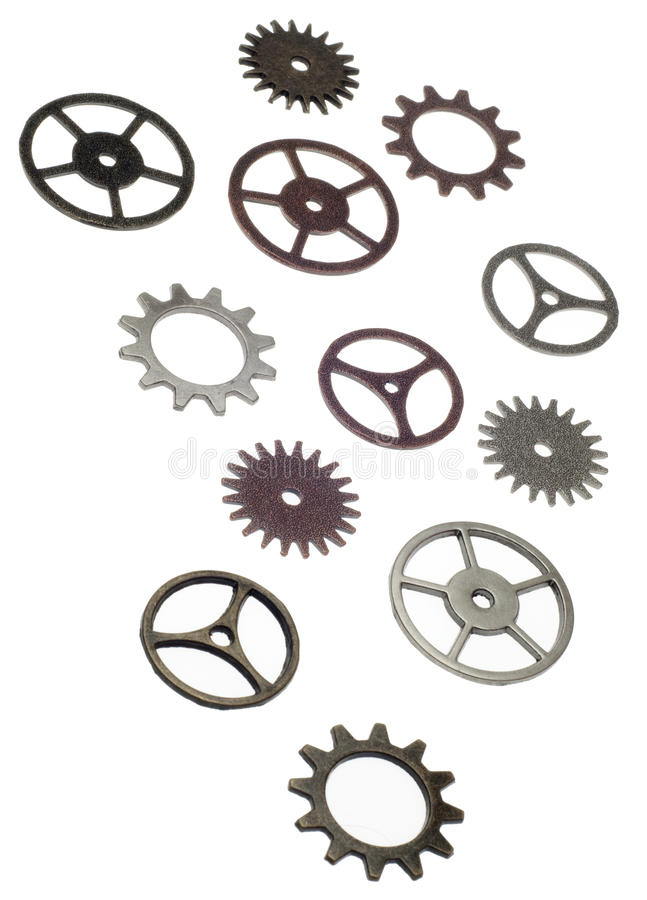 Cog Wheel Gear Background Royalty Free Stock Image