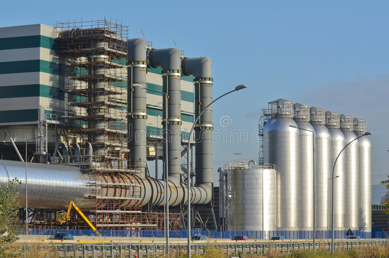 Download Cogeneration power plant stock image. Image of ecology - 31924345