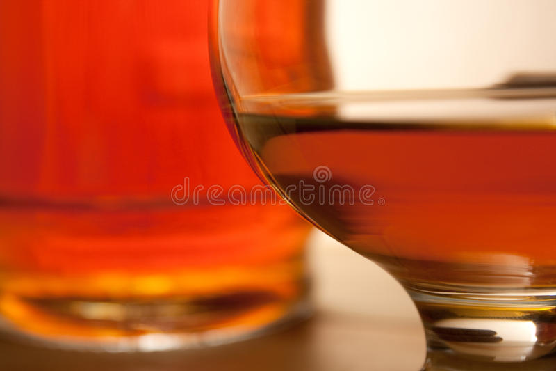 cognac royaltyfri fotografi