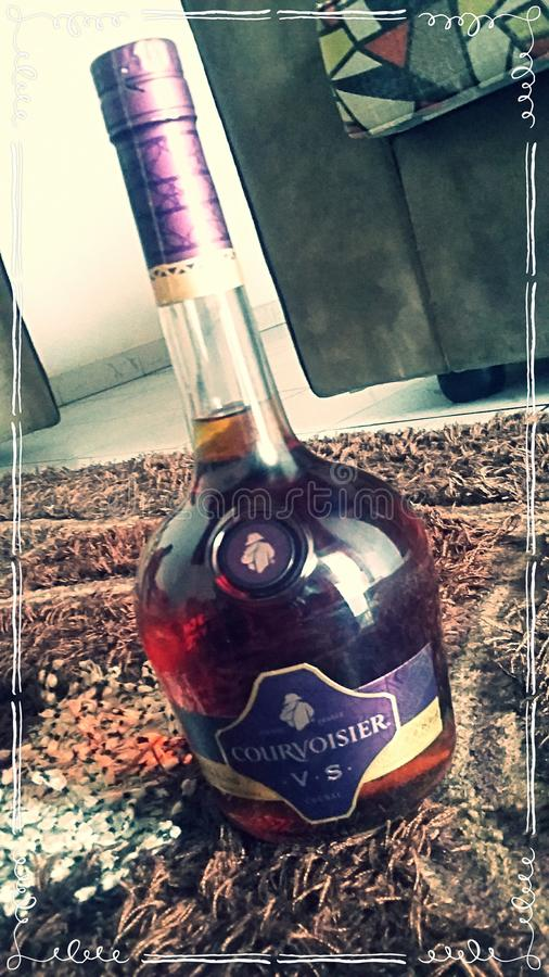 Cognac de Courvoisier photos stock