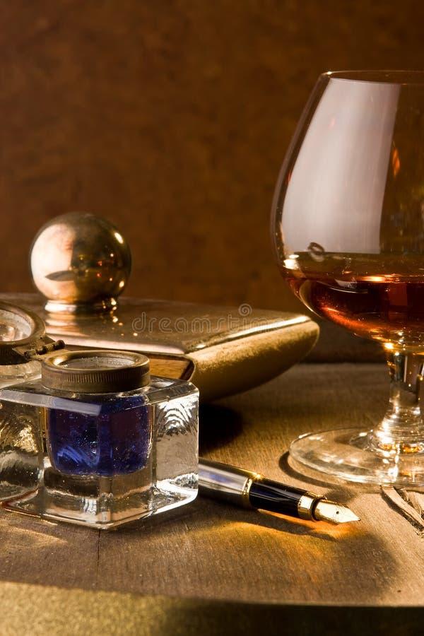 Cognac del produttore fotografia stock libera da diritti