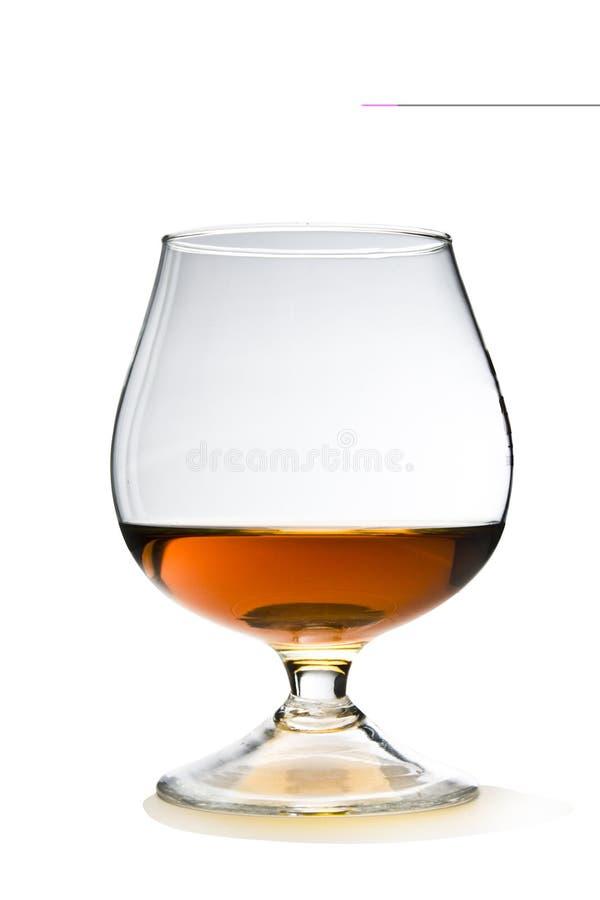 Cognac met Weg royalty-vrije stock fotografie