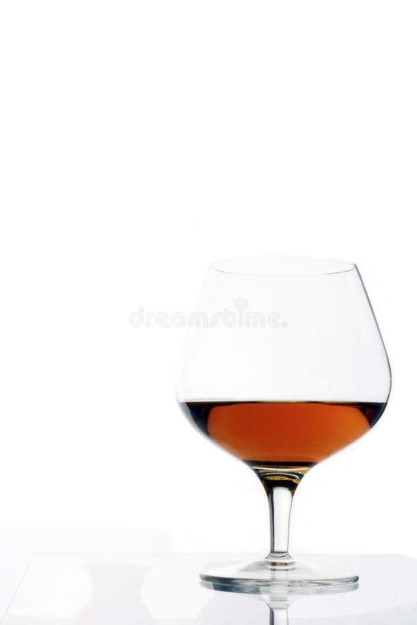 Cognacglas stock foto