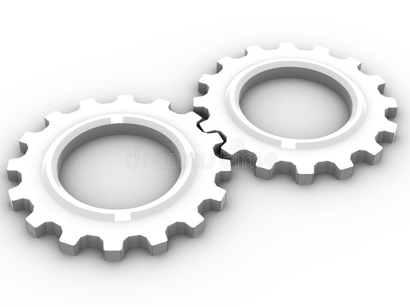 Download Cogs stock illustration. Image of mechanical, gearings - 3073139