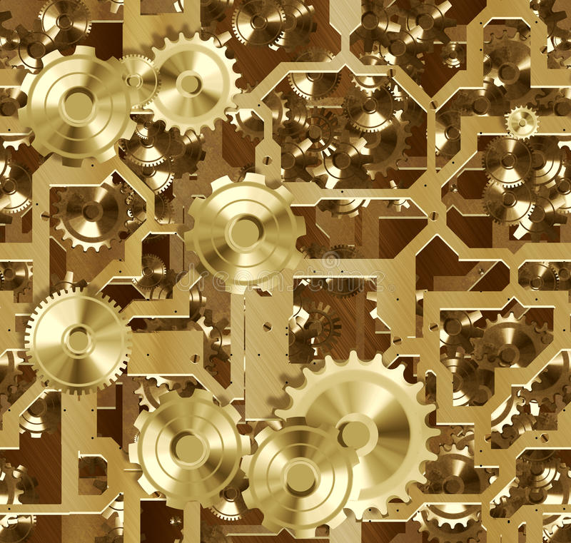 Download Cogs And Clockwork Machinery Stock Illustration - Image: 14748151