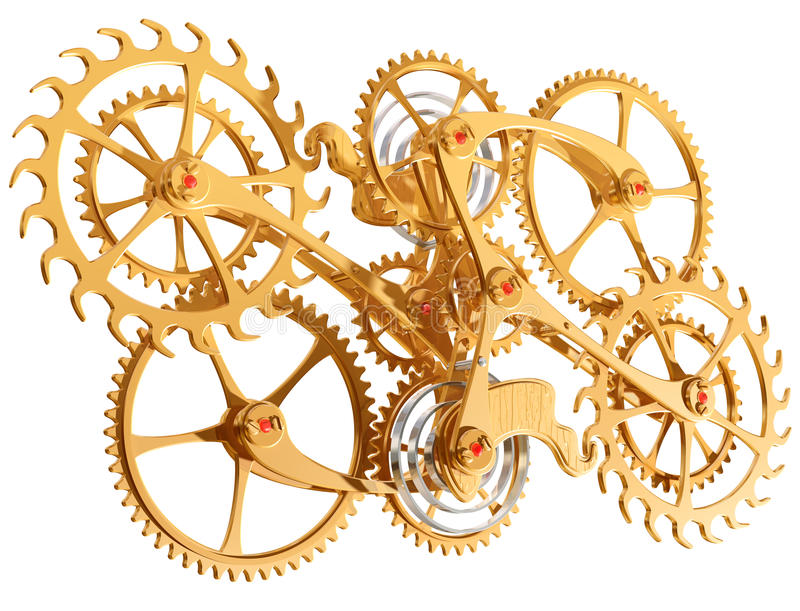 Download Cogs and gears stock illustration. Image of illustration - 10959581
