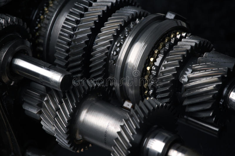 Cogs and gears stock photos