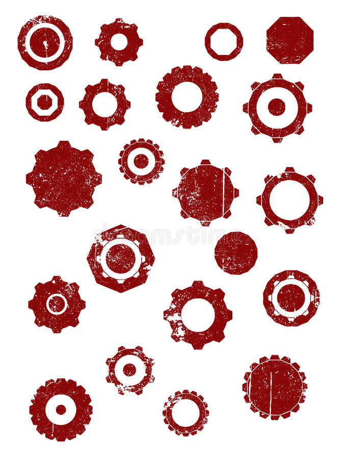 Download Cogs and wheels stock vector. Illustration of industrial - 3316755