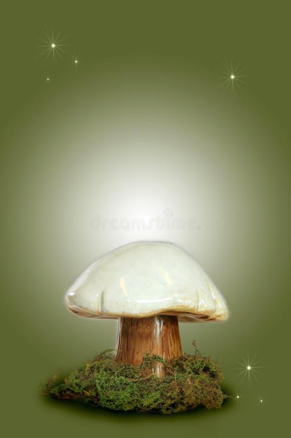 Cogumelo feericamente da fantasia foto de stock