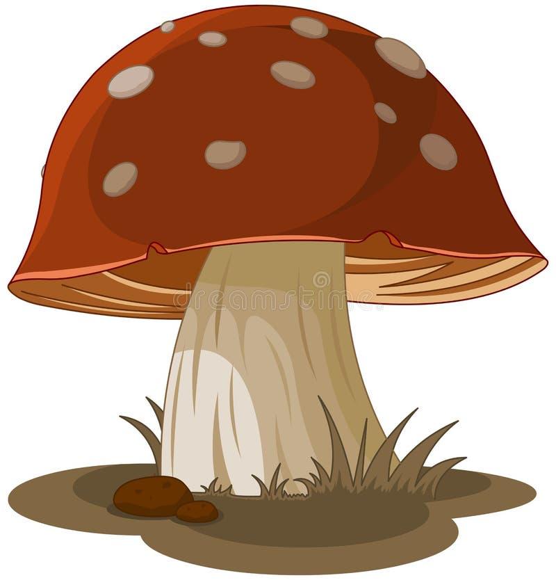 Cogumelo mágico ilustração stock