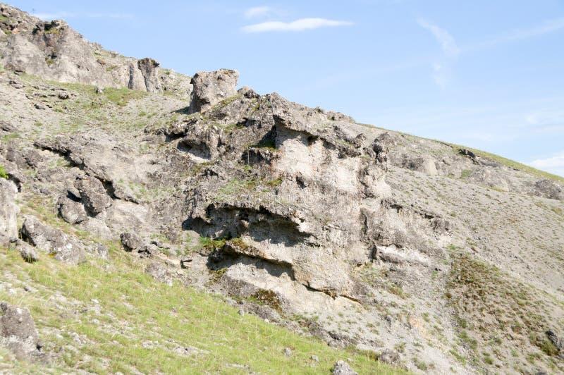 Cogumelos da pedra do fenômeno natural imagem de stock