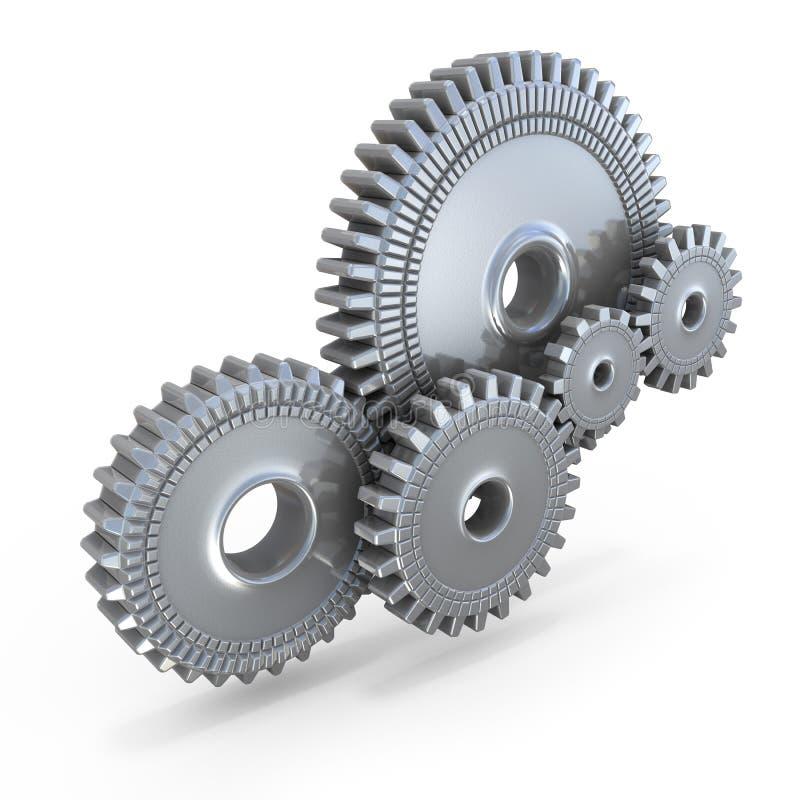 cogwheel εργαλεία διανυσματική απεικόνιση