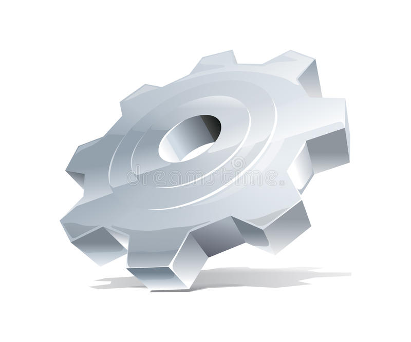 Download Cogwheel stock vector. Image of icon, cooperate, connection - 17566477