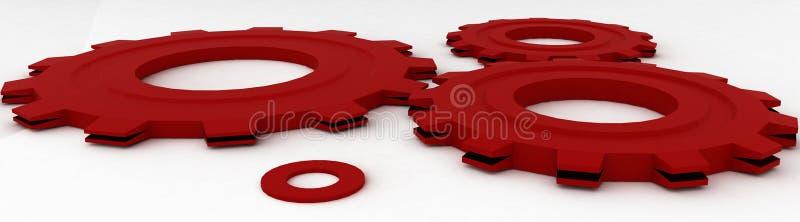 Download Cogwheel stock illustration. Image of mono, form, design - 21432387