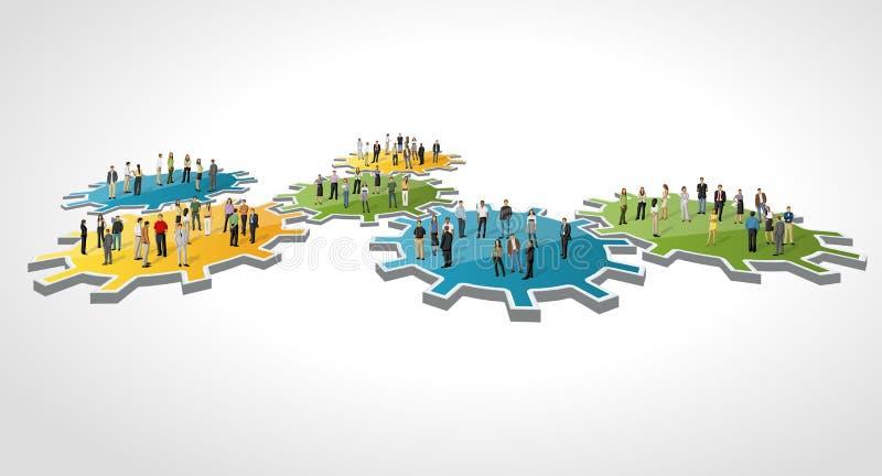 Cogwheel. απεικόνιση αποθεμάτων