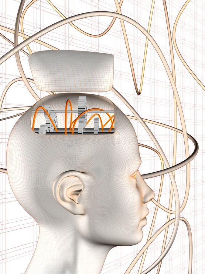 Cogwheel Brain Head
