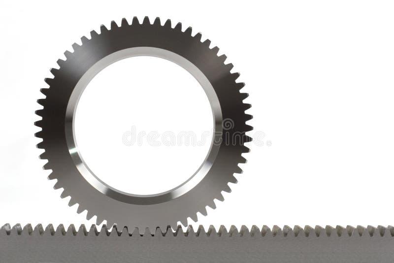 cogwheel cograil стоковое изображение