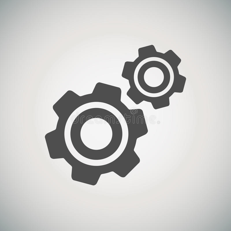 Download Cogwheel And Development Icon Stock Vector - Illustration of design, parts: 33558431