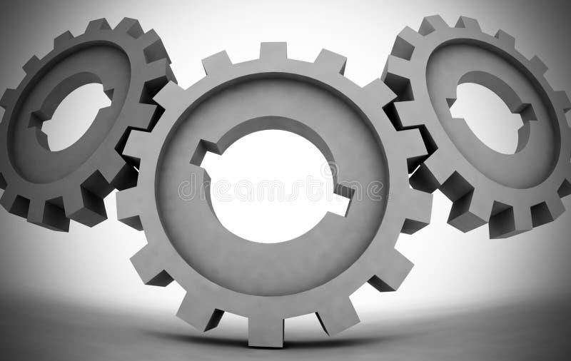 Download Cogwheels stock illustration. Illustration of gear, energy - 27005715