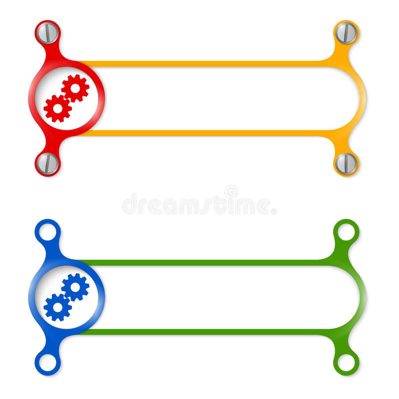 cogwheels иллюстрация штока