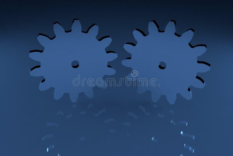 cogwheels arkivfoto