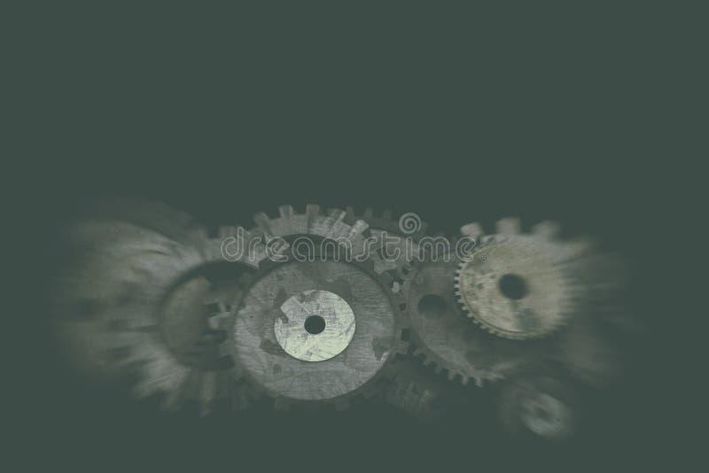 Cogwheels i przekładnia mechanizm zdjęcia royalty free