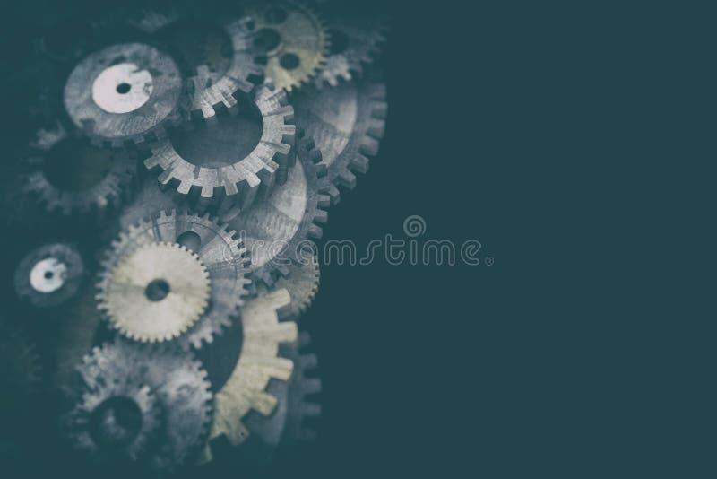 Cogwheels i przekładnia mechanizm obrazy royalty free