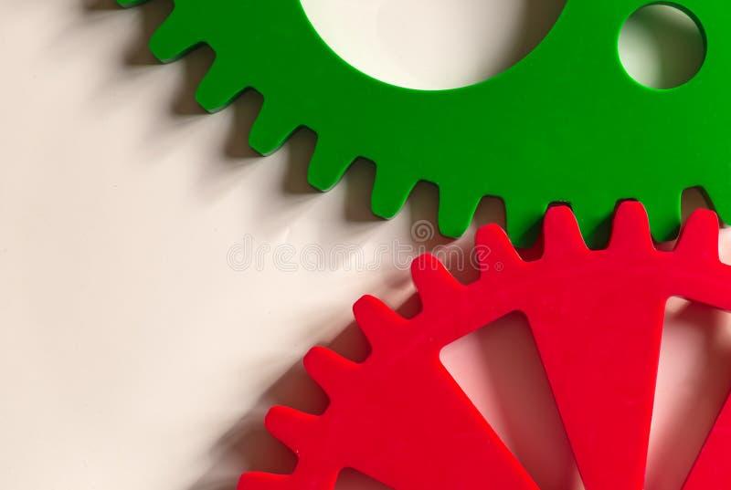 cogwheels kolorowi zdjęcia stock