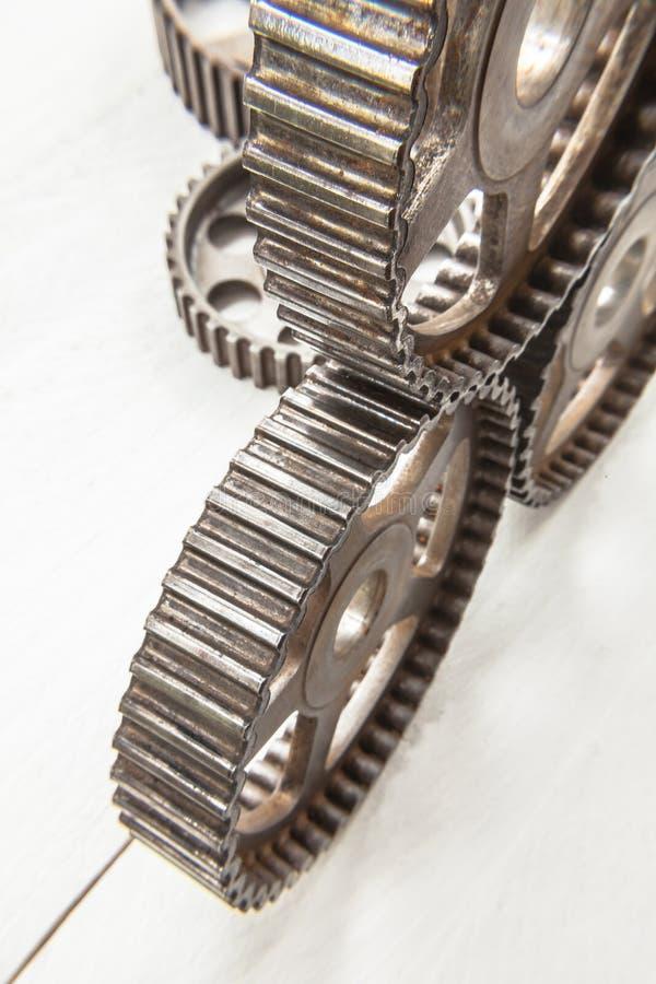 cogwheels przemysłowi obrazy stock