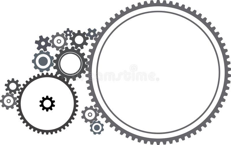 cogwheels różne ilustracji