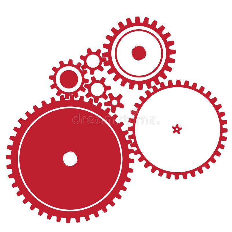 cogwheels różnorodni zdjęcia stock