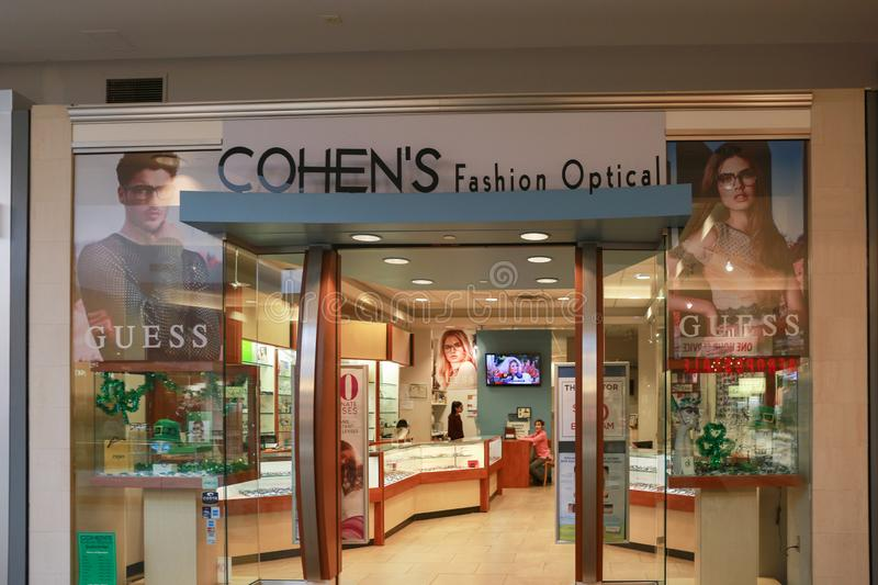 Cohens Mode optisch bei Lawrence Township New Jersey stockfotos
