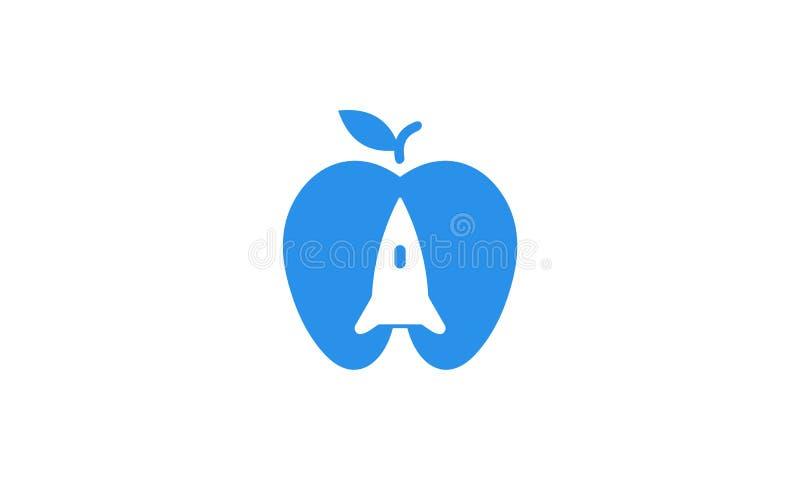 Cohete de Aple imagenes de archivo