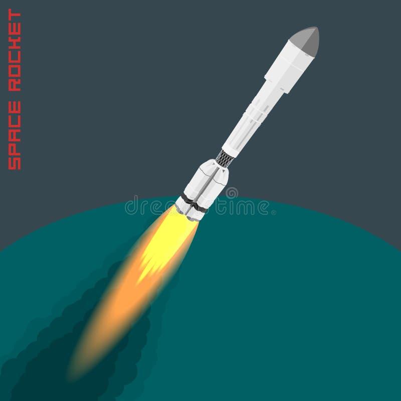 Cohete de espacio de Proton libre illustration