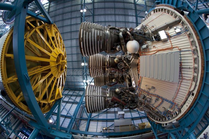 Cohete de Saturn V imágenes de archivo libres de regalías