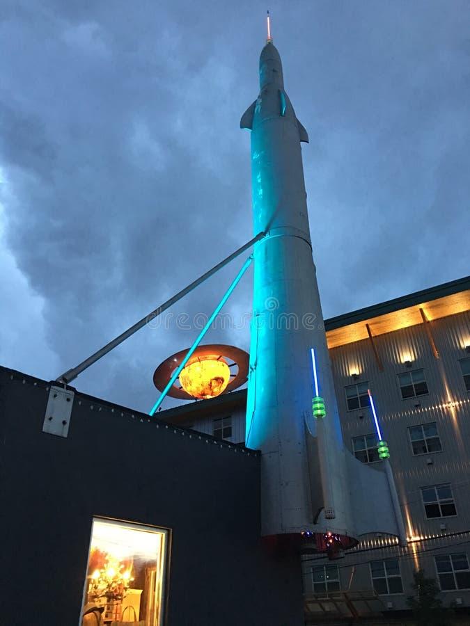 Cohete de Seattle imagen de archivo