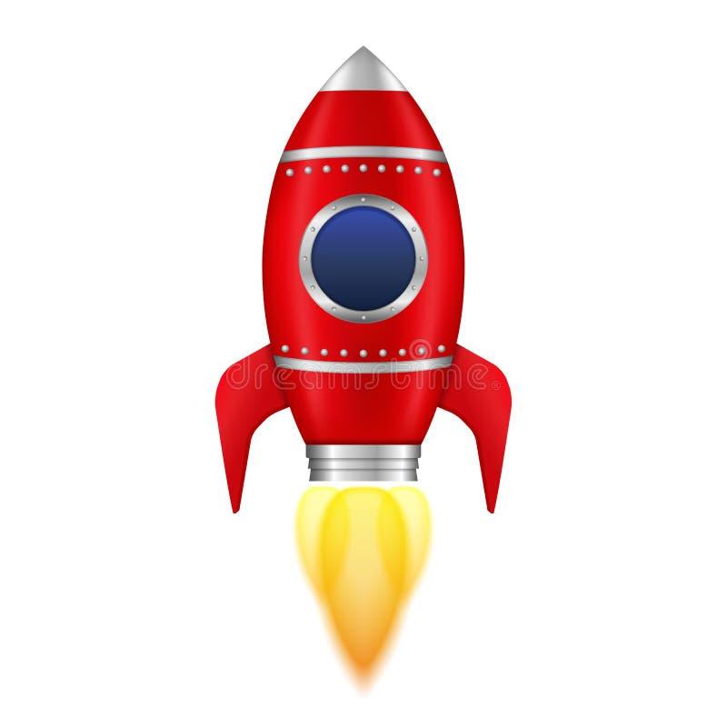 Cohete rojo libre illustration